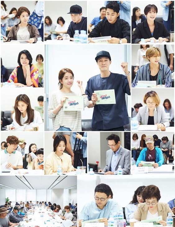 "So Ji Sub And Jung In Sun's Upcoming Drama Holds First Script Reading ""Terius Behind Me"""
