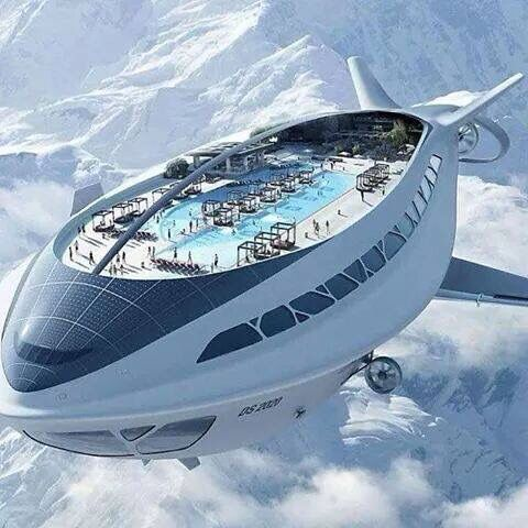 Flying cruise ship in Japan WTF