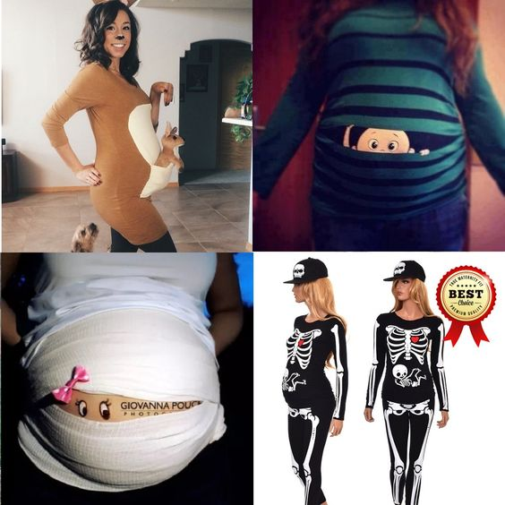Whether you want to embrace, emphasize, or play off the baby belly bump, these 16 pregnant Halloween costumes ideas are perfect inspiration!