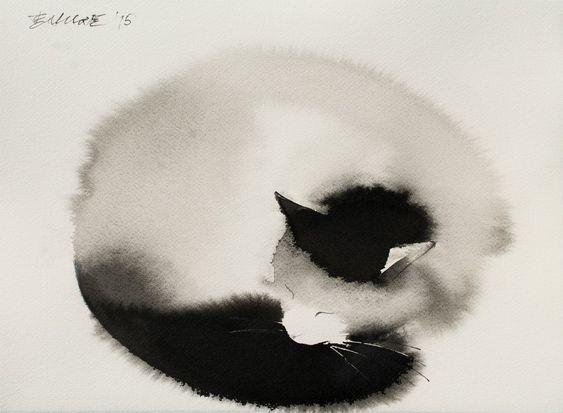 Призрачные коты - Все интересное в искусстве и не только.