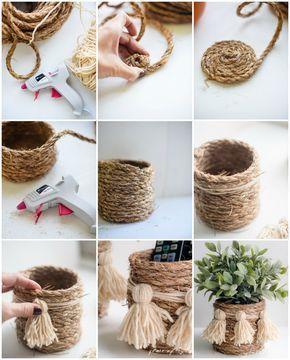 15 idee per un bel vaso personalizzato con il fai da te! Ispiratevi…