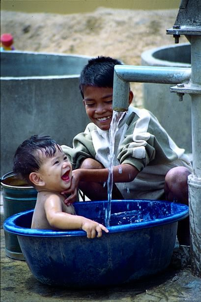 Bath Time smiles in The Philippines. Like & Repin. Listen to Noelito Flow. Noel Music.                                                                                                                                                     More