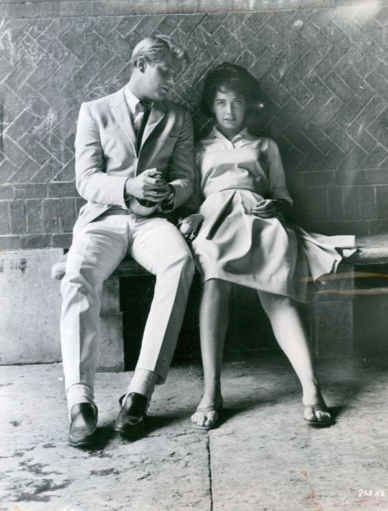 Troy Donahue & Suzanne Pleshette