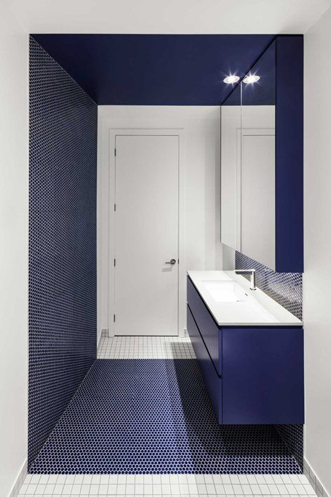 Modest Interior Bathroom