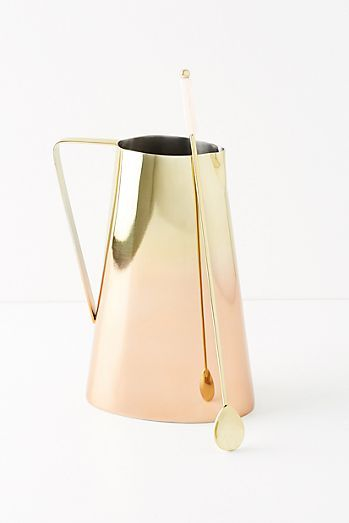 Glam Pitcher + Stirrer Set