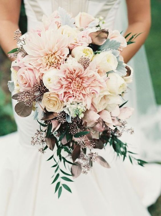Stunning Wedding Bouquet - Holly Heider Chapple Flowers #ad