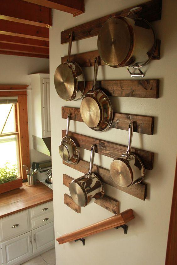 Organizzare e Ottimizzare lo spazio in cucina! Ecco 20 trucchi…