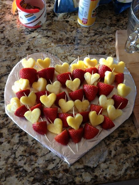 valentine's day fruit tray ideas - Google Search …