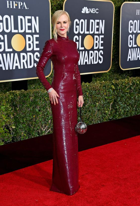 The Golden Globes Red Carpet Fashion - The New York Times