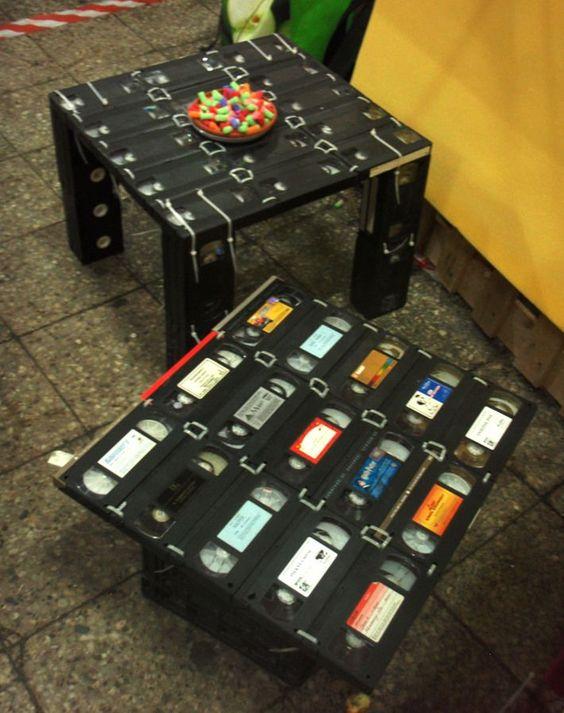 Risultati immagini per riciclo cassette vhs