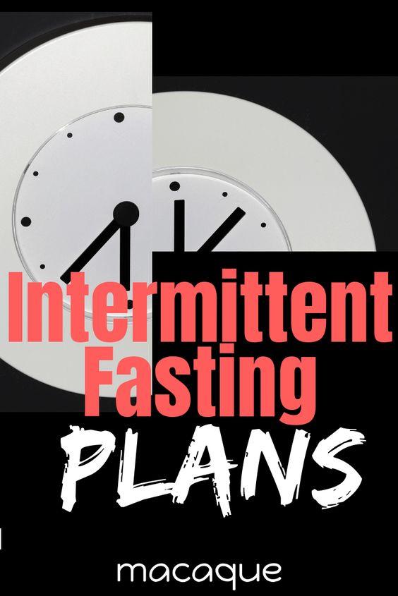 Intermittent Fasting Plans