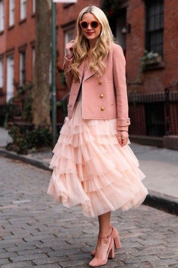 Awesome Pink Valentines Day Outfits Ideas 12