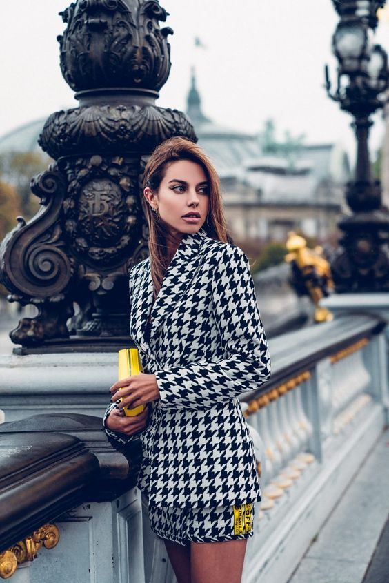 The VivaLuxury | On Trend: Houndstooth Print