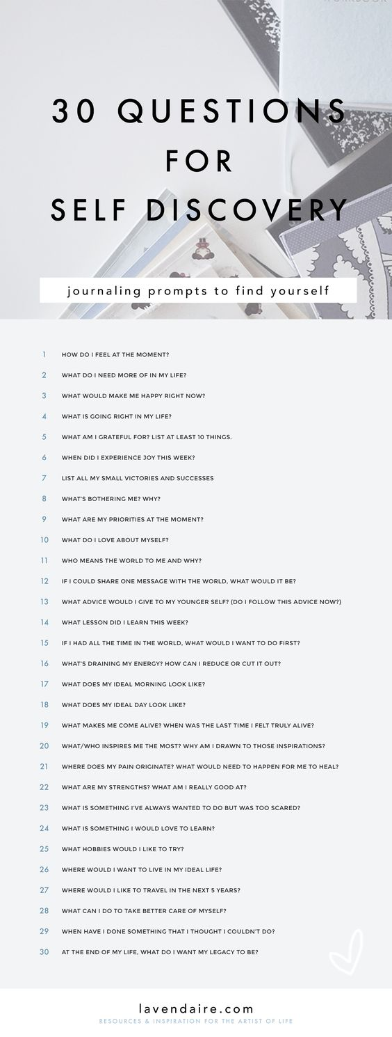 Journaling | Journaling Ideas | Journal prompts | Questions for self discovery | Self Improvement | Personal Growth | How to Journal | Lavendaire | Free worksheet