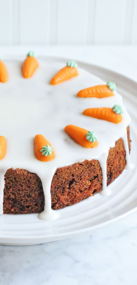 Carrot Cake with Lemon Frosting | eatlittlebird.com
