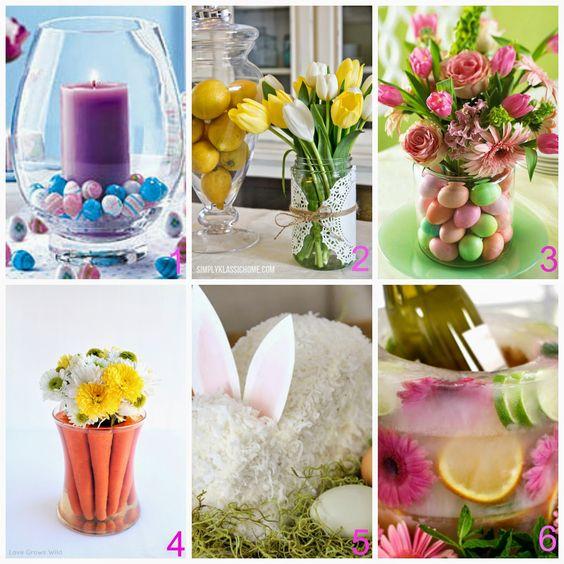 Centrotavola fai da te per Pasqua