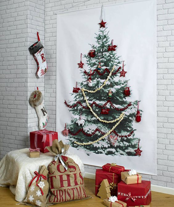 Original Christmas tree wall hanging @pattonmelo