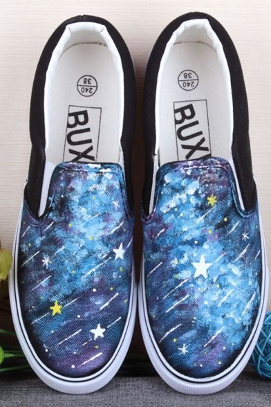 Top Painted Shoes