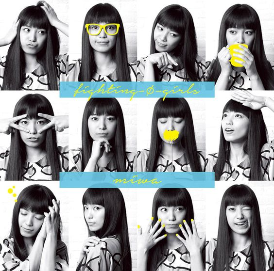 「fighting -φ- girls」のmiwa