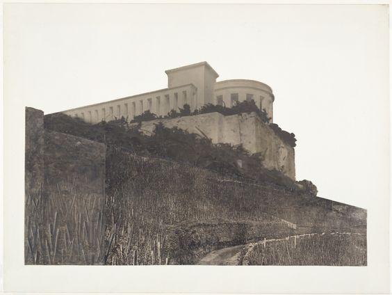 Ludwig Mies van der Rohe. Bismarck Monument Project, Bingen, Germany (Perspective). 1910 | MoMA