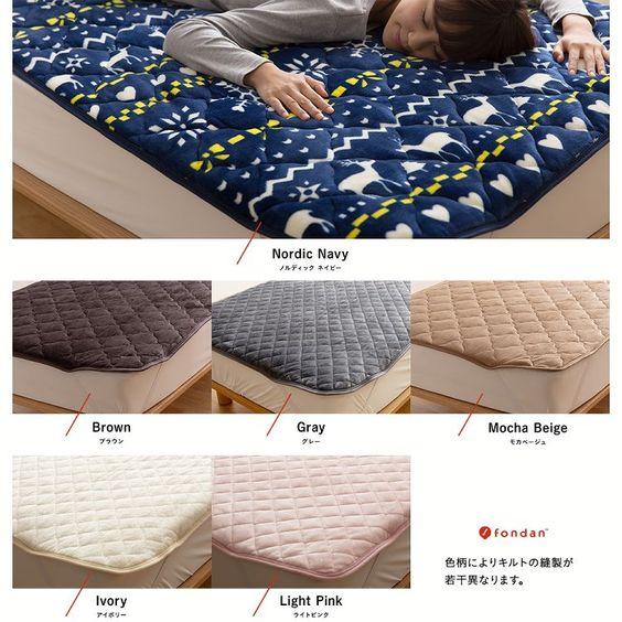 ニトリ・無印・楽天のおすすめ敷きパッド比較!洗濯可能なおしゃれ素材13選