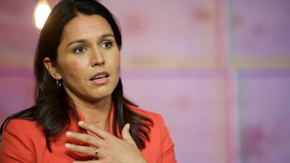 Tulsi Gabbard criticized President Trump for his response to Saudi Arabia with regard to the murder of Jamal Khashoggi.
