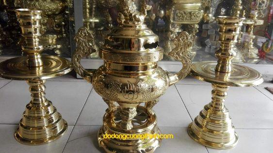 Lư đồng truyền thống tròn dodongcuongthinh