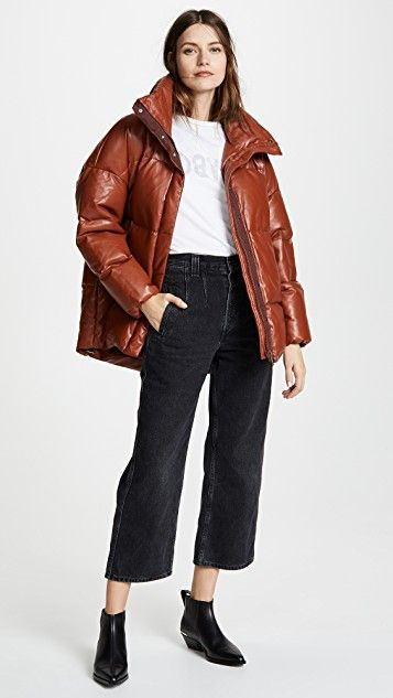 Sosken Glory Puffer Coat - $595 #theradicalblog #falloutfits #shopbop