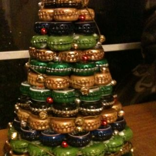 I call on your bottle tree with my bottle cap tree
