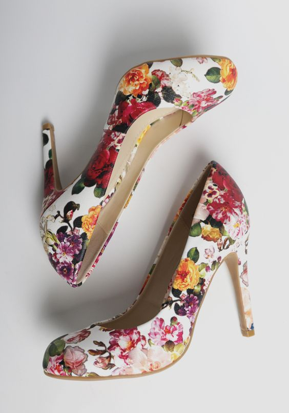 Magical Floral Shoes