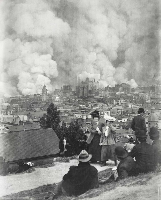 Arnold Genthe. Аfter San Francisco  earthquake. 1906