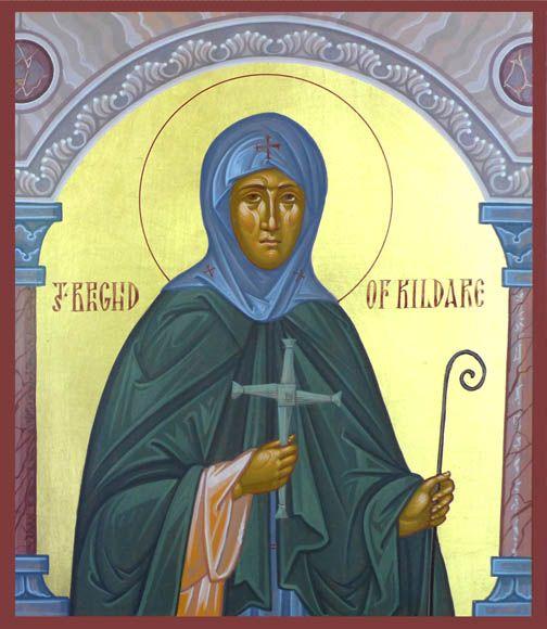 St. Brigid of Kildare by Dmitry Shkolnik
