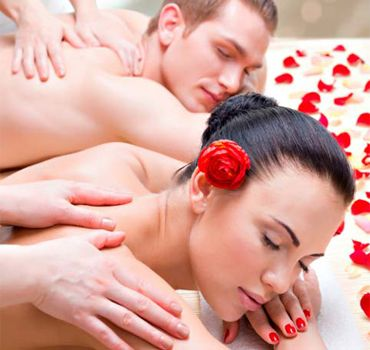 Valentines Day Couples Spa