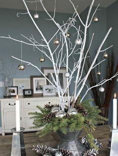 Ga lekker het bos in en neem een paar takken mee om te versieren thuis... 12 leuke voorbeelden! - Zelfmaak ideetjes