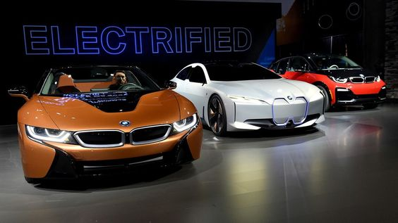 The auto show had some focus on electric vehicles but mostly by fuel driven autos.