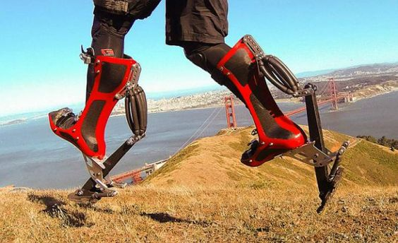 The Bionic Boots With The Amazing Boost   >>>   I'd bet the police would use these...