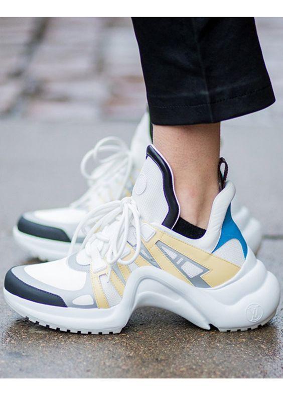 Trendalarm: Ugly Dad Sneaker sind das Must-have im Frühling 2018 #sneaker #shoes #accessoires #trend