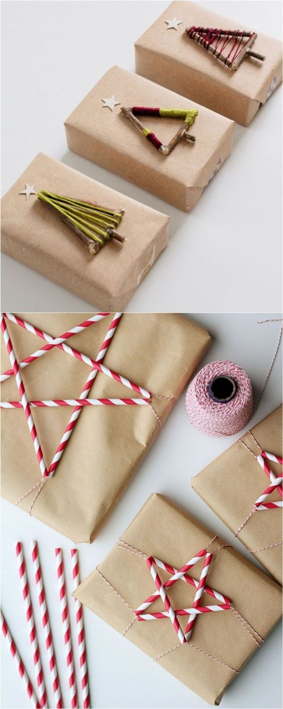 16 inspiring gift wrapping hacks on how to make instant gift bags and beautiful gift wraps in minutes, using re-purposed materials for almost free! - A Piece Of Rainbow by shelly