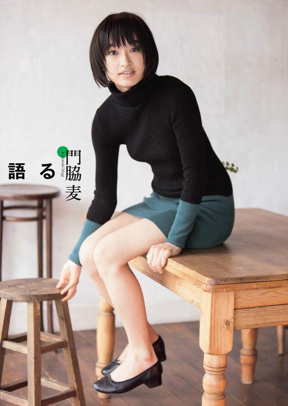 黒と緑のスカートの可愛い門脇麦