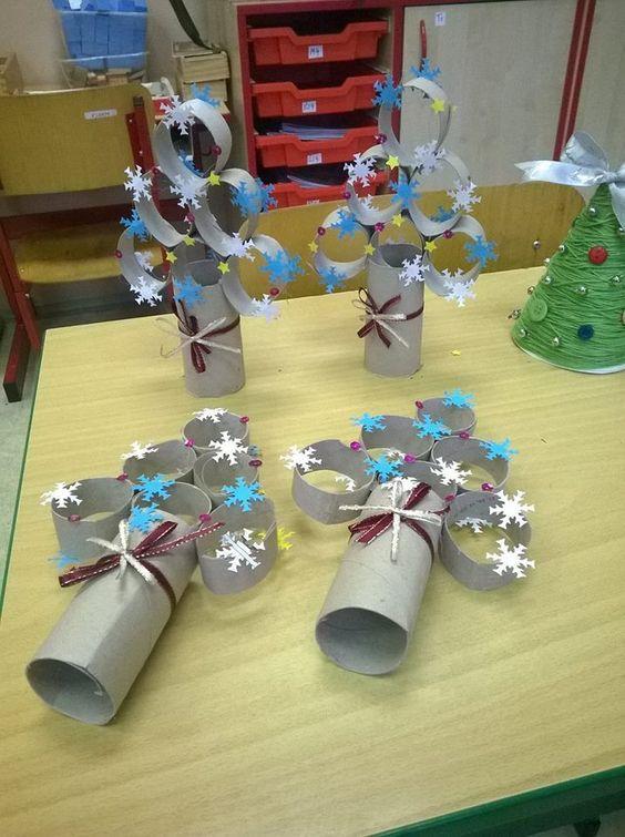 Lavoretti Di Carta Natale Bambini.Lavoretti Natalizi Per Bambini 30 Idee Riciclando Rotoli Di Carta Igienica