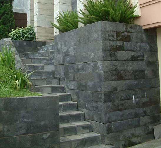 Batu Candi Berlumut - tanpa coating batu alam