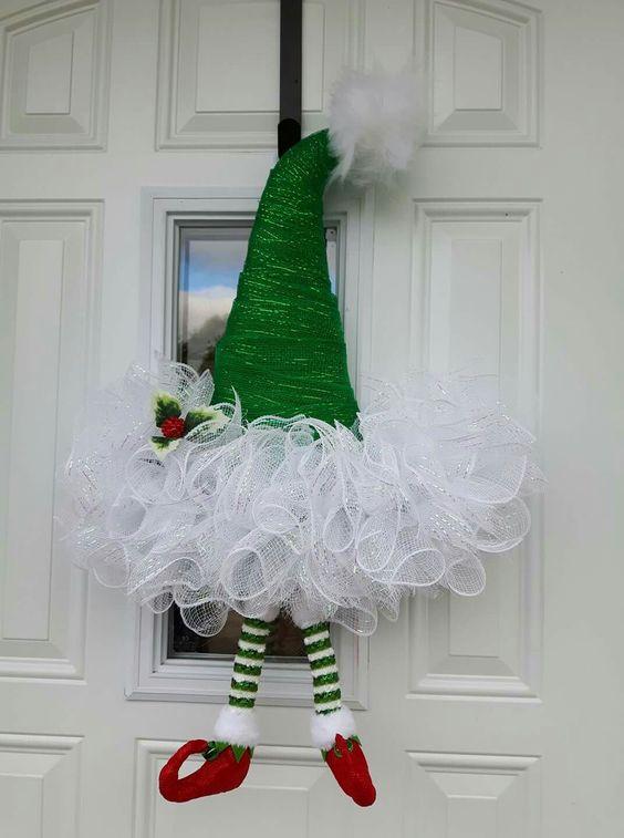 Ornamenti natalizi (porta)