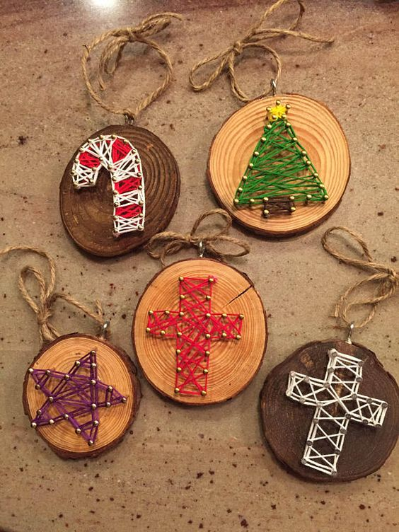 Requirement 1 (T) Learn the basics of 3 crafts listed (pg. 170) & make 1 of each. - String Art