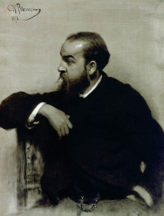 Портрет художника Рафаила Сергеевича Левицкого.1878