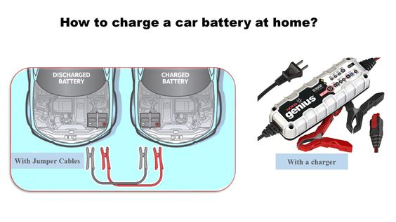 How To Charge A Car Battery Without A Charger >> How To Charge A Car Battery Diy Battery Charging