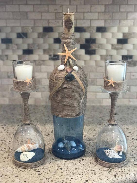 Riciclo bicchieri spaiati: Ecco 20 idee di decorazioni utilizzando bicchieri spaiati