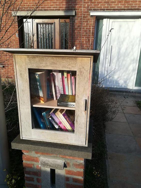 Boekenruilkast Gentbrugge