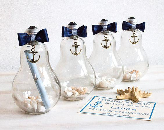 Messaggio in un bottiglia da Damigella proposta damigella d'onore sarà si essere miei damigella d'onore nautico invito vedere regalo di nozze invito damigella d'onore