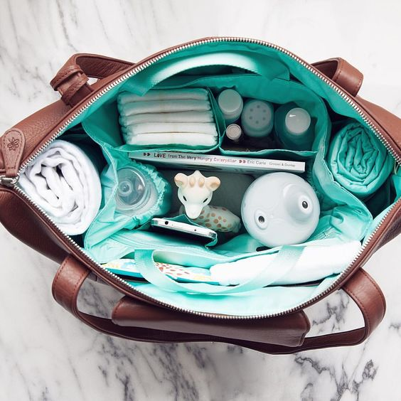 Beautiful leather diaper bags for every season of life! By @megganewood Customer ?'s support@lily-jade.com