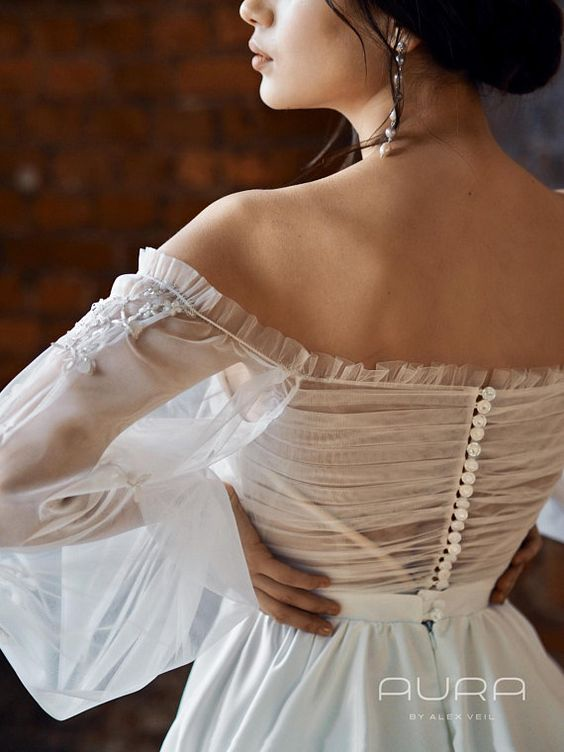 lightweight and easy-to wear wedding dresses grant you freedom of movement
